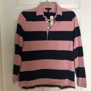 Jcrew Rugby Polo, Small, NWT